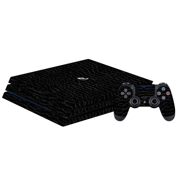 PlayStation 4 Pro LEATHER Alligator Skin