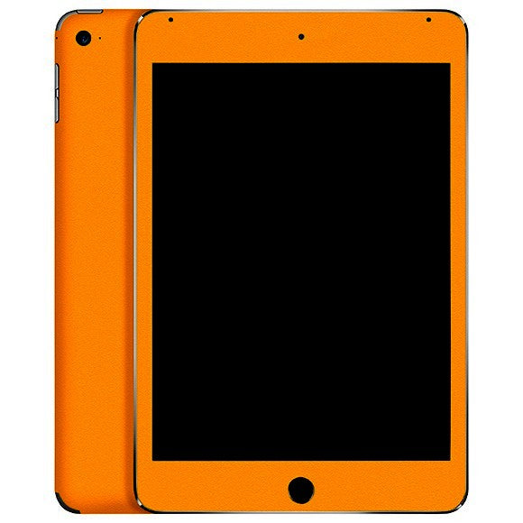 iPad Mini 4 MATT Orange Skin