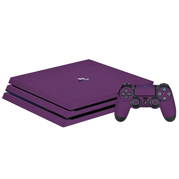PlayStation 4 Pro MATT Purple Skin
