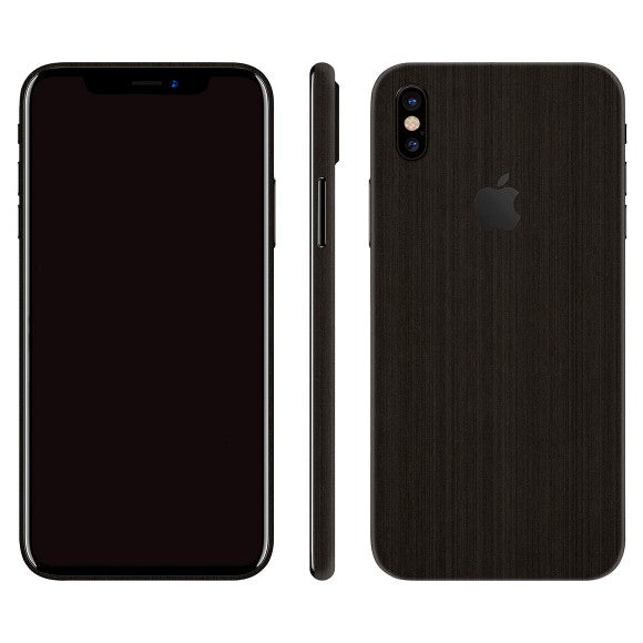 iPhone X STEEL Black Skin