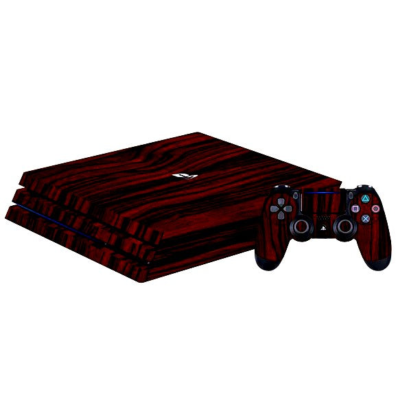 PlayStation 4 Slim WOOD Ebony Skin