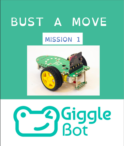 Bust a Move OpenDyslexic Font Tutorial for Programming Robot GiggleBot MicroBit BBC