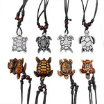 Ultimate Tribal Turtle Necklace Set of 8 - Mixed Colors