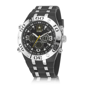 Men's U.S. Army 37200014 C23 Analog-Digital Display Quartz Multi-function Watch