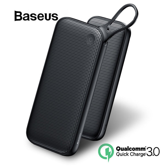 Baseus 20000mAh Power Bank For iPhone XR Xs Max 8 7 Samsung Huawei USB PD Fast Charging QC3.0 Quick Charger Powerbank MacBook - i-bazar