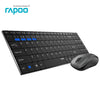 Rapoo 9060M Slim Wireless Keyboard Mouse - Shop For Gamers