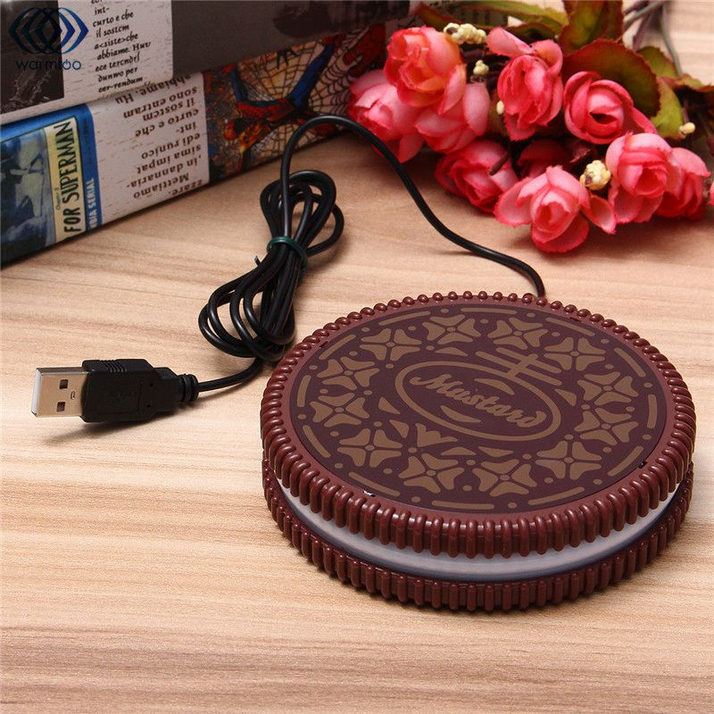 USB Mug Heating Pad COOKIE Design Cup - Shop For Gamers