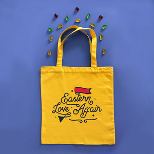 Eastern Love Affair Tote Bag Yellow