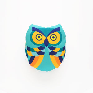 Puppet Owl Turquoise