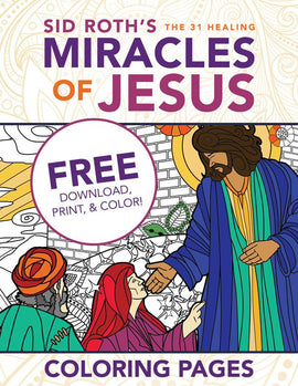 Healings of Jesus Coloring Pages - FREE Download