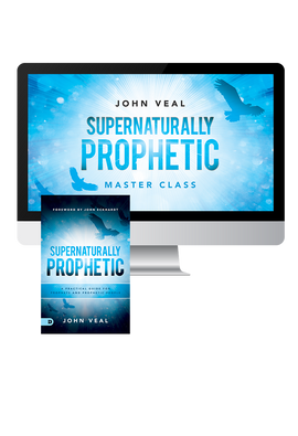 Supernaturally Prophetic Masterclass (Digital Product)