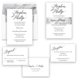 Modern Elegant Wedding Invitation - Flat Printing