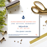 Nautical Save the Date