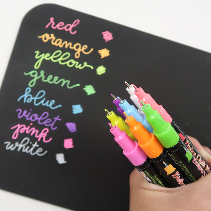 Markers 101: Different Types of Marker Tips