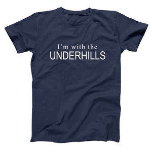Im With The Underhills Men's Tall T-Shirt