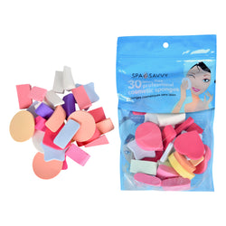 Pack of 30 Latex Free Cosmetic Makeup Sponges