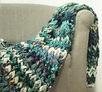 Basha chunky knit blanket, small