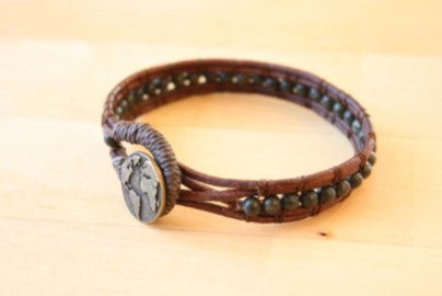 Gemstone Cuff, men's