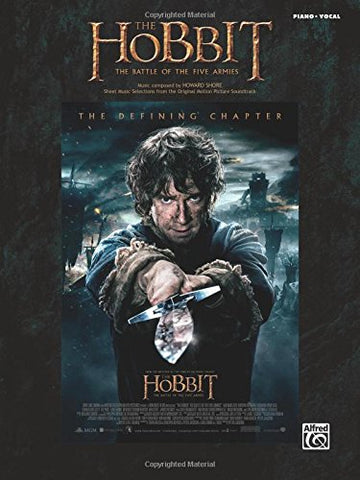 The Hobbit -- The Battle Of The Five Armies: Sheet Music Selections From The Original Motion Picture Soundtrack