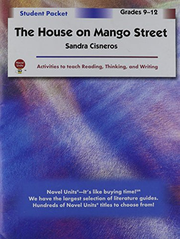 House On Mango Street - Student Packet By Novel Units, Inc.