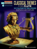 Classical Themes: Flute Easy Instrumental Play-Along Book With Online Audio Tracks (Hal Leonard Easy Instrumental Play-Along)