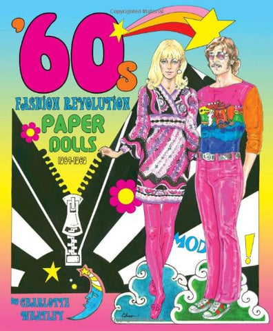 '60S Fashion Revolution Paper Dolls: 1964-1969