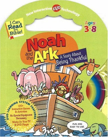 Noah And The Ark: A Story About Being Thankful (I Can Read The Bible)