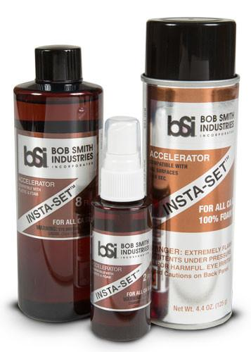 Bob Smith Industries INSTA-SET ACCELERATOR 2 OZ. | RC Overstock