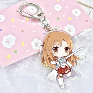 [Sword Art Online] Keychains, Aisuru 100%, Collectibles- Aisuru 100%