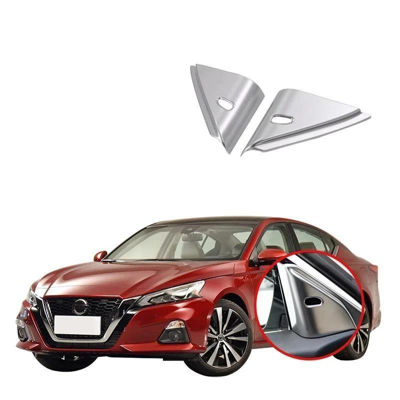 NINTE Car Interior Accessories Car A Pillar Decorative Front Window Cover Sticker ABS Matte Car Styling For Nissan ALTIMA 2019 - NINTE