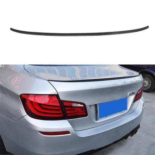 NINTE Painted Gloss Black Trunk Spoiler For 2012-2016 BMW 5-Series F10 Sedan | M5 Performance Style ABS Rear Wing