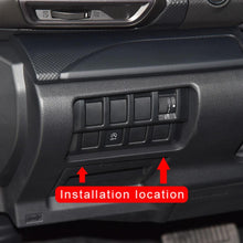 Inner Headlight Switch Button Cover Trim For Subaru Forester 2019 NINTE - NINTE