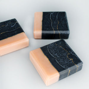 Land of 2 Fields- Activated Charcoal, French Pink Clay, & Geranium Soap