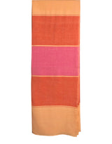 Monsoon Stripe Throw 50 Cashmere 50 Silk Peche Velour Rose Violet Argile Rouge Hung 9a51ce52-7fdb-4c93-a723-50e01504097a