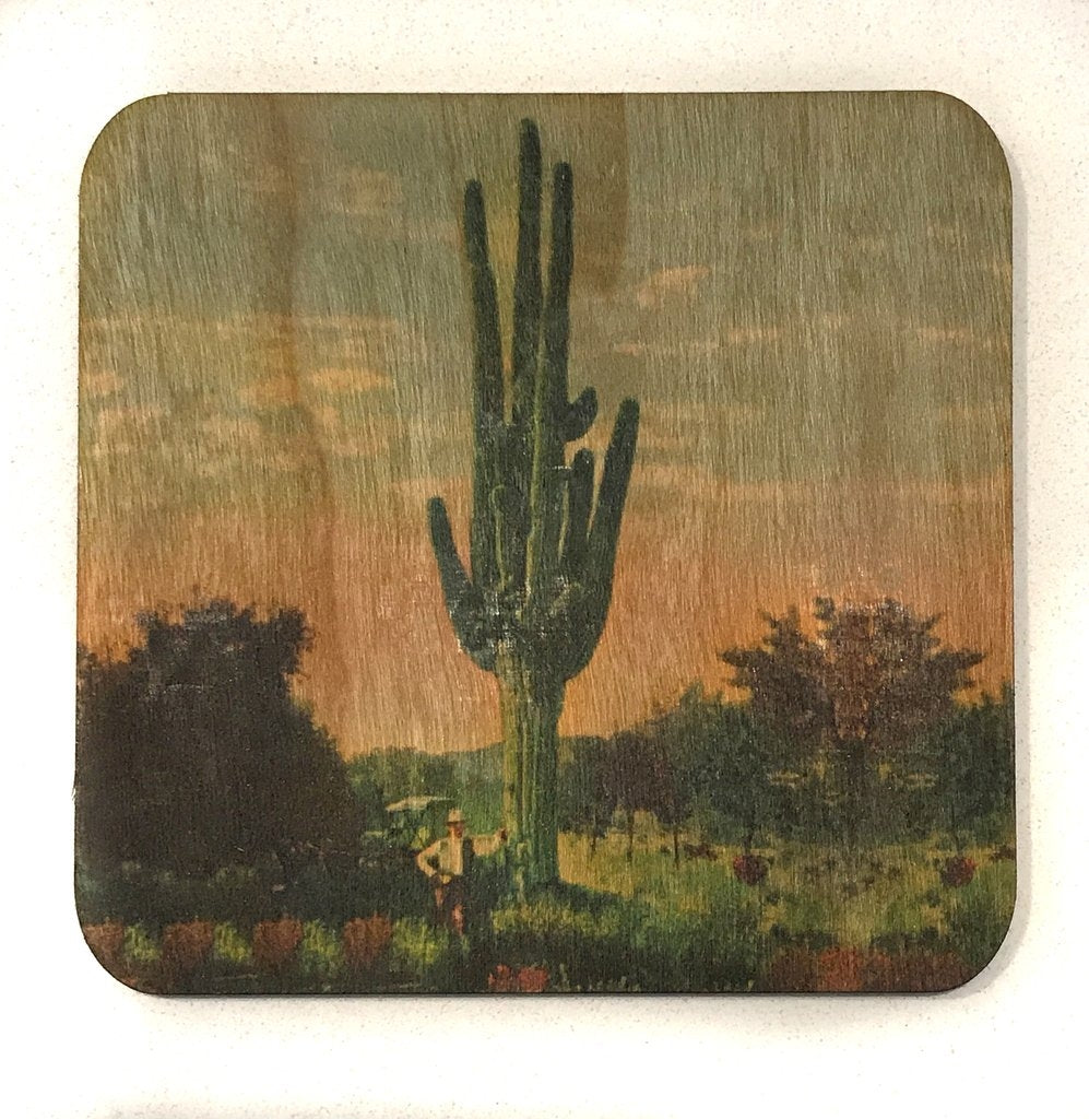 Spitfire Girl Cactus Coasters