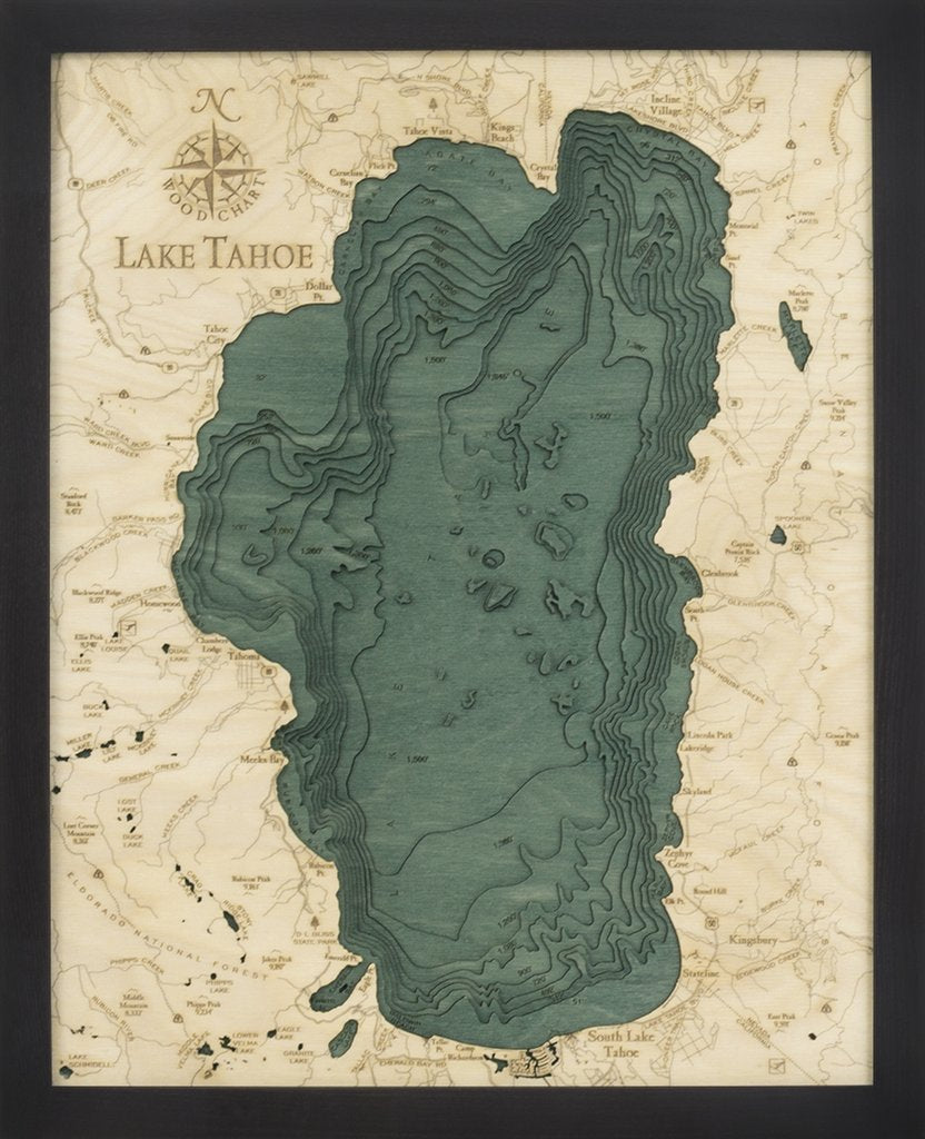 Lake Tahoe Woodchart