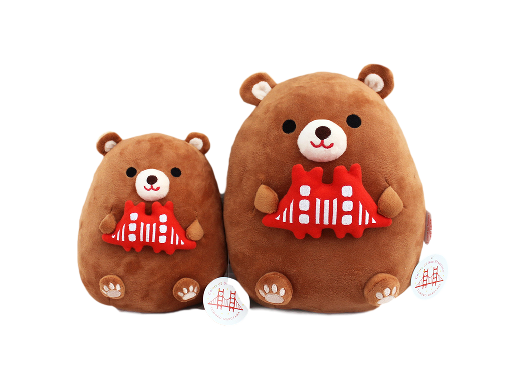 Hugging California Bear Plush Toy