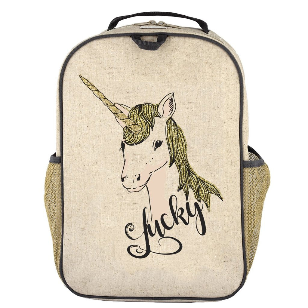 Lucky Unicorn Grade School Backpack