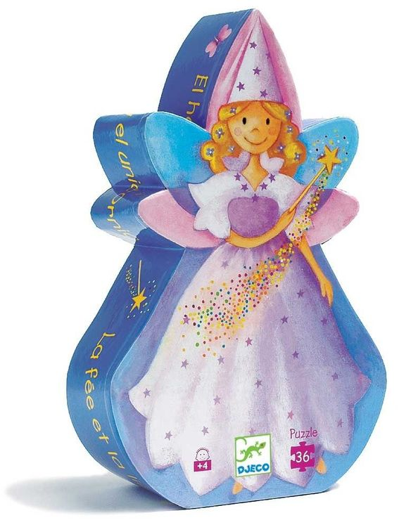 Fairy & Her Unicorn Jigsaw Puzzle