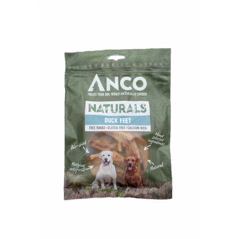 Anco Naturals Duck Feet - Jurassic Bark Pet Store Littleport Ely Cambridge