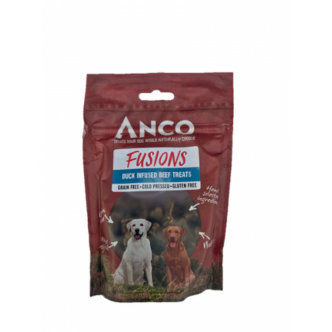 Anco Fusions Duck Infused Beef Treat - Jurassic Bark Pet Store Littleport Ely Cambridge