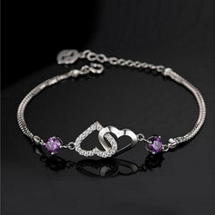 Bracelet - Beautiful Amethyst Bracelet