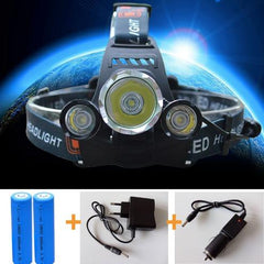 ULTRA Bright LED Rechargeable Headlamp - ULTRA Bright LED Rechargeable Headlamp