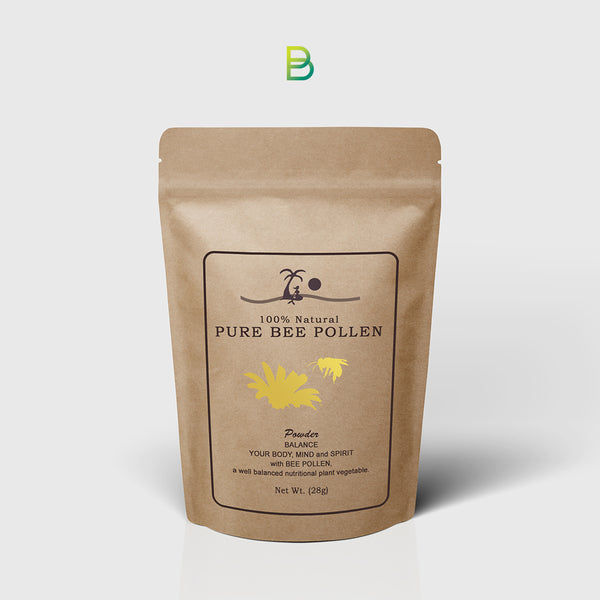 Pure Bee Pollen Powder 28g