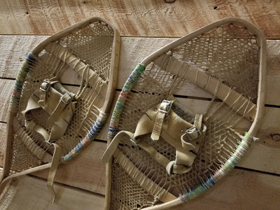 Antique Native American Indian Snowshoes