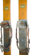 Antique Wooden Northland Maple Skis