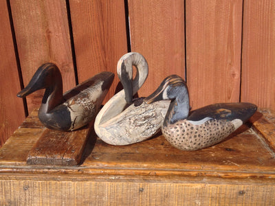 Attractive Hand Carved and Painted Duck