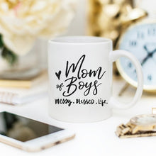 Load image into Gallery viewer, Mom Of Boys Coffee Mug