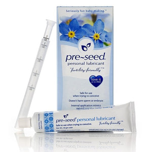 1 Pre-Seed + 40 tests d'ovulation + 10 tests de grossesse (Bandelettes)