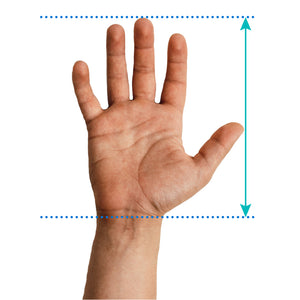 Men's grip size chart